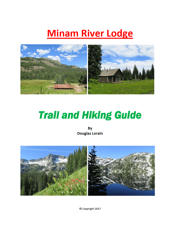 Minam River Lodge Hiking Guide cover page