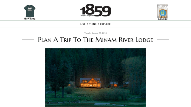 Minam River Lodge